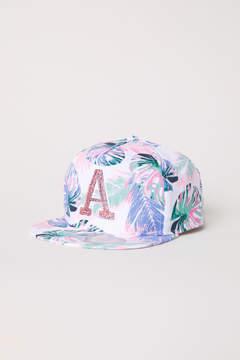 H&M Cap with a motif - White