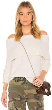 Bardot Zipper Knit Sweater