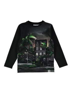 Molo Rexol Plant Attack Printed Long-Sleeve T-Shirt, Size 4-10