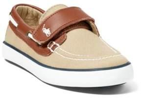 Ralph Lauren Sander Ez Boat Shoe Khaki/Tan 11