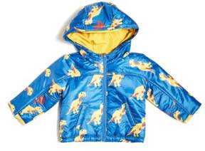 GUESS Boy's Dino Print Zip Jacket (0-24m)