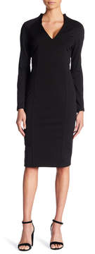 Alexia Admor Military Neck Dress