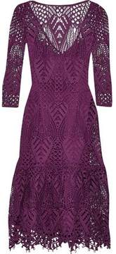 Temperley London New Moon Guipure Lace Dress