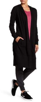 Andrew Marc Long Sleeve Hooded Duster