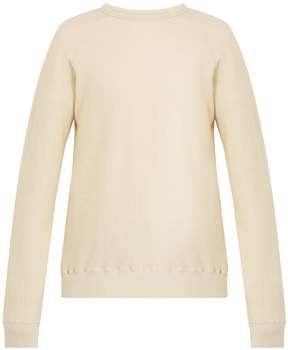 Saturdays NYC Kasu Interlock long-sleeved cotton sweatshirt