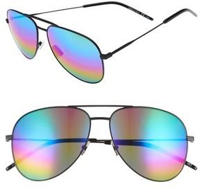 Saint Laurent Women's Classic 59Mm Aviator Sunglasses - Black/ Multi