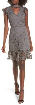 J.o.a. Women's Choker Lace Dress