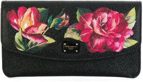 Dolce & Gabbana floral print wallet set