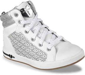 Skechers Shimmer Shouts Toddler & Youth High-Top Sneaker - Girl's