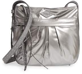 MZ Wallace Harlow Bedford Nylon Crossbody Bag - Metallic