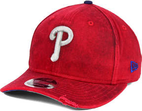 New Era Philadelphia Phillies Team Rustic 9FIFTY Snapback Cap