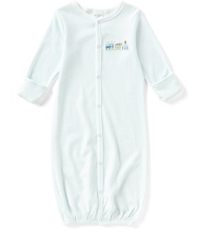 Starting Out Baby Boys Newborn-6 Months Train-Embroidered Gown