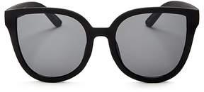 Quay Paradiso Oversized Cat Eye Sunglasses, 57mm