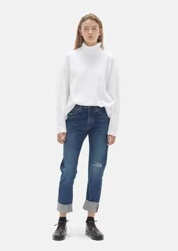 Chimala Selvedge Narrow Tapered Cut Jean Damaged Medium Size: W 26