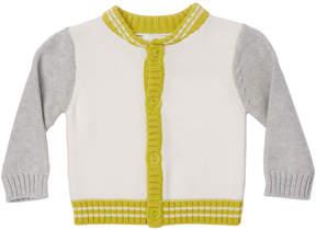 Marie Chantal Baby Boy Mini Varsity Cotton Cardigan