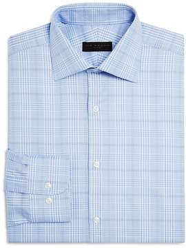 Ike Behar Plaid Regular Fit Dress Shirt