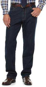 Croft & Barrow Men's Classic-Fit Flannel-Lined Jeans