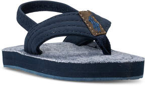 Polo Ralph Lauren Toddler Boys' Theo Flip-Flop Sandals from Finish Line