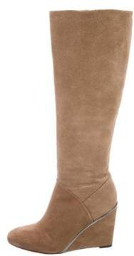 Diane von Furstenberg Wedge Knee-High Boots