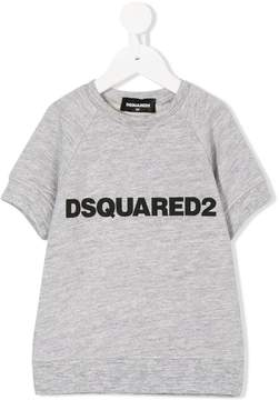 DSQUARED2 logo print sweat top