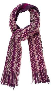 Missoni Patterned Rectangle Scarf