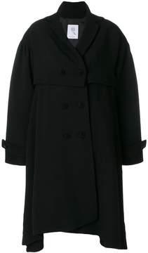 Boule De Neige double breasted asymmetric coat