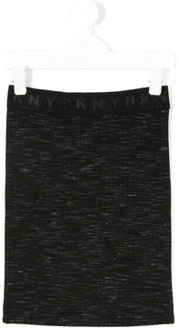 DKNY straight-fit skirt
