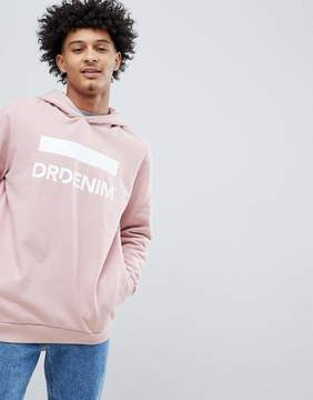 Dr. Denim Ace Pink Oversized Hoody