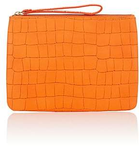 Barneys New York WOMEN'S ALL-IN-ONE MEDIUM LEATHER WRISTLET POUCH