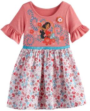 Disney Disney's Elena of Avalor Toddler Girl Graphic Floral Dress