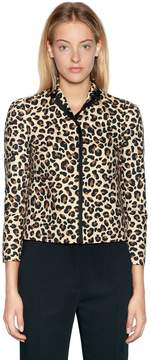 N°21 Animalier Cotton Canvas Jacket