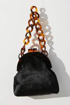 Anthropologie Lucite Chain Clutch