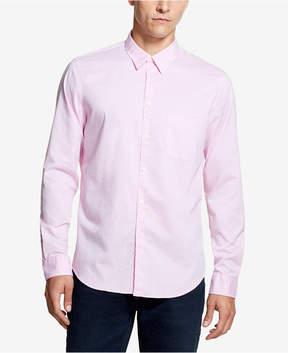DKNY Men's Fine Twill Pocket Shirt, Created for Macy's