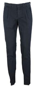 Incotex Men's 1aa70190273848 Blue Cotton Pants.
