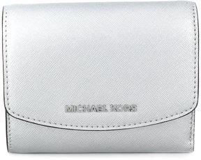 MICHAEL Michael Kors logo plaque wallet - METALLIC - STYLE