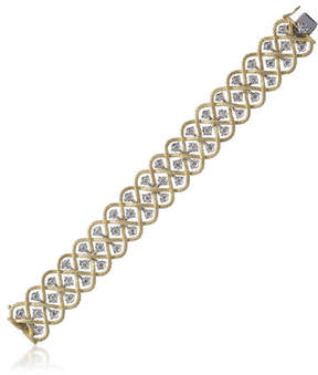 Buccellati Etoilee Diamond 18K Bracelet