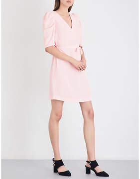 Claudie Pierlot Rivolta crepe mini dress