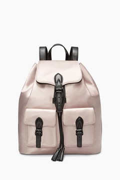 Rebecca Minkoff Alice Satin Nylon Backpack - ONE COLOR - STYLE