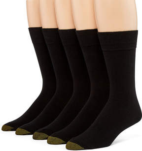 Gold Toe 5 Pair Crew Socks-Mens