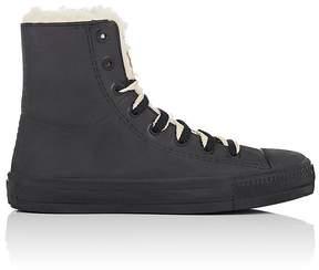 Barneys New York Women's Rubber & Faux-Shearling Rain Sneakers