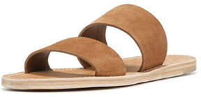 Vince Travis Suede Two-Band Slide