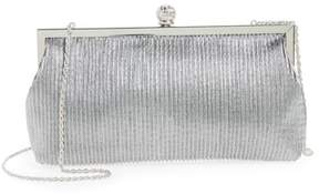 Nina Aneka Pleated Shine Clutch