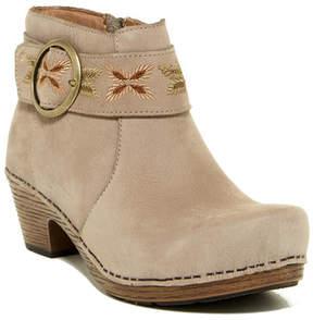 Dansko Mina Milled Nubuck Ankle Boot