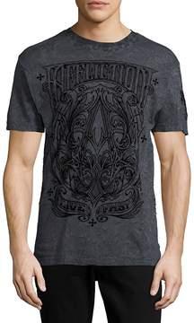 Affliction Men's A Frame Crewneck T-Shirt