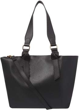 Black Oversized Handle Tote Bag