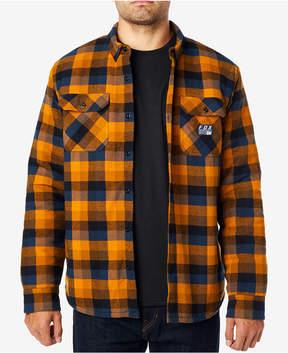 Fox Men's Roverfield Plaid Fleece-Lined Flannel Shirt