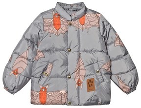 Mini Rodini Grey Bat Puffer Jacket