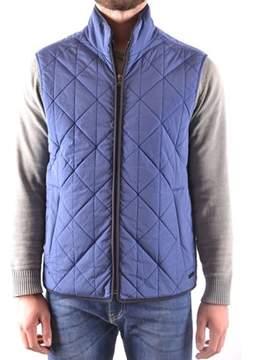 Paul & Shark Men's Blue Polyamide Vest.