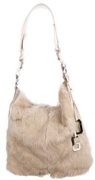 Dolce & Gabbana Fur & Leather Tote Bag