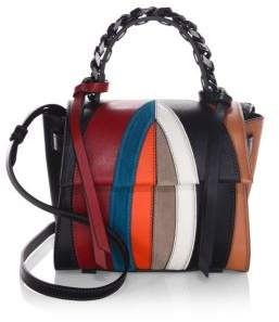 Elena Ghisellini Small Angel Multicolored Crossbody Bag